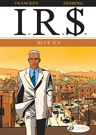 I.R.$. COMIC_VOLUME_ABBREVIATION 2: Blue Ice