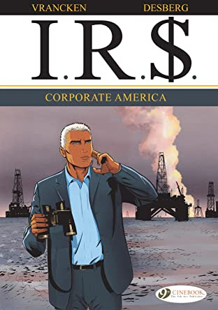 I.R.$. COMIC_VOLUME_ABBREVIATION 5: Corporate America