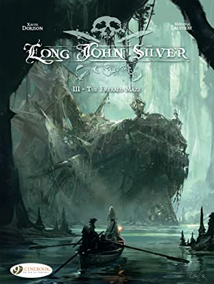 Long John Silver Tome 3: The Emerald Maze