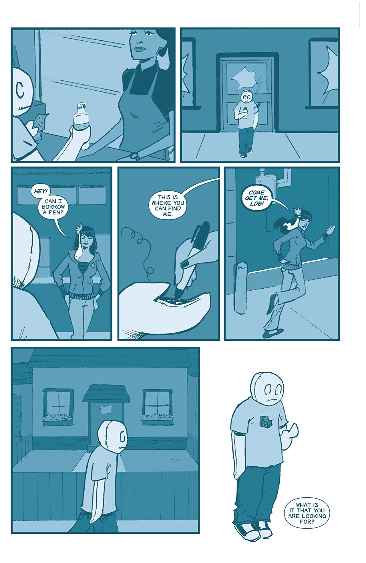The Li'l Depressed Boy Tome 4