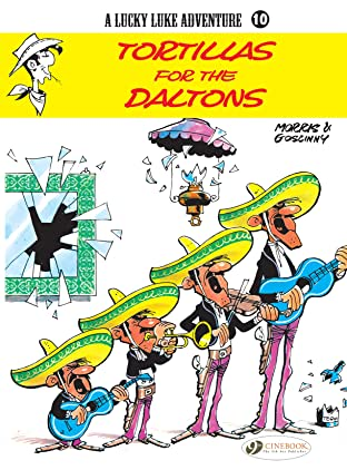 Lucky Luke Tome 10: Tortillas for the Daltons