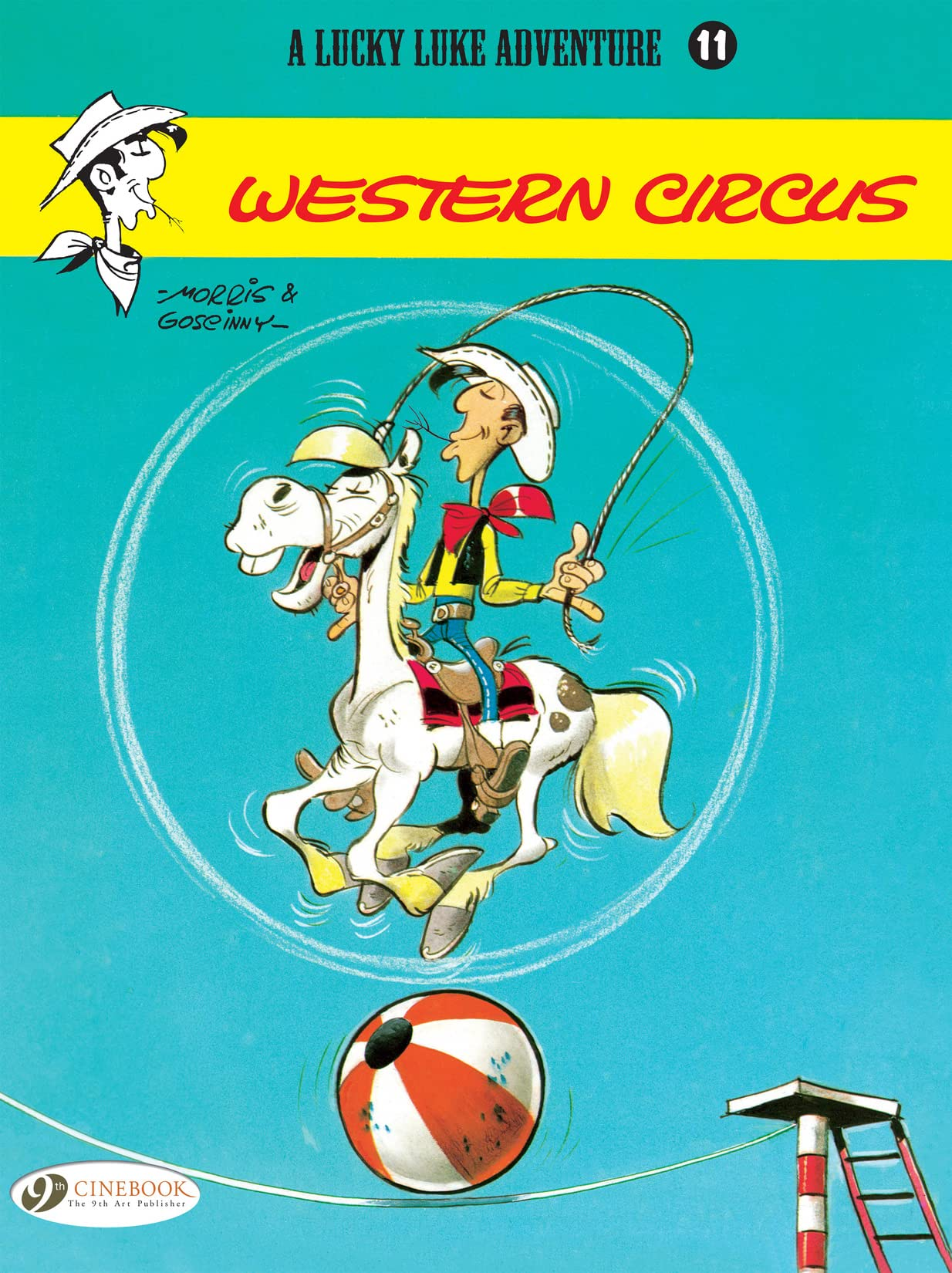 Lucky Luke Tome 11: Western Circus