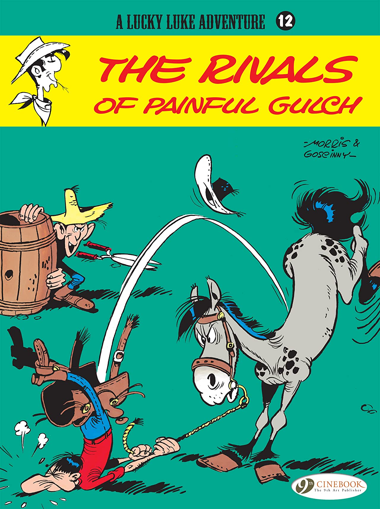 Lucky Luke Tome 12: The Rivals of Painful Gulch