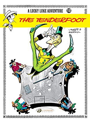 Lucky Luke Tome 13: The Tenderfoot