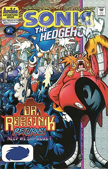 Sonic the Hedgehog #76