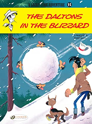 Lucky Luke Tome 15: The Daltons in the Blizzard