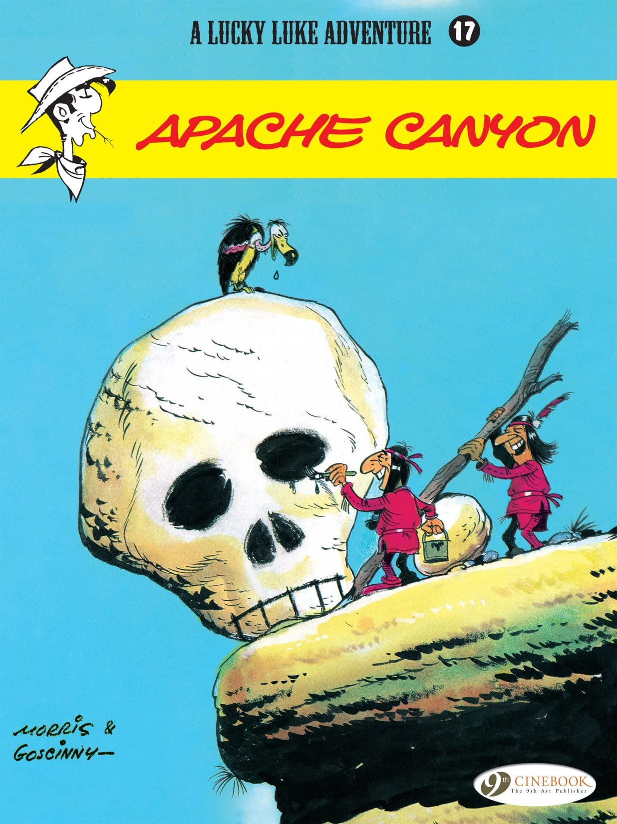 Lucky Luke Vol. 17: Apache Canyon