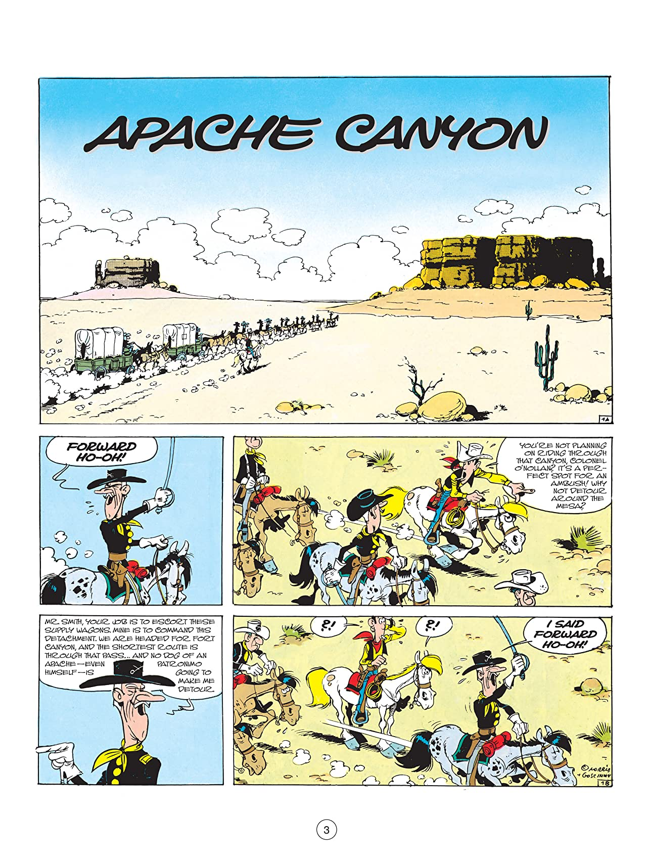 Lucky Luke Tome 17: Apache Canyon