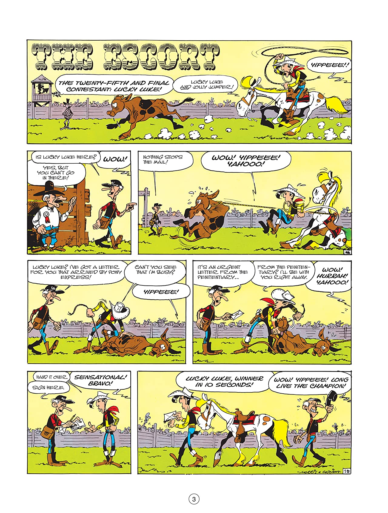Lucky Luke Vol. 18: The Escort