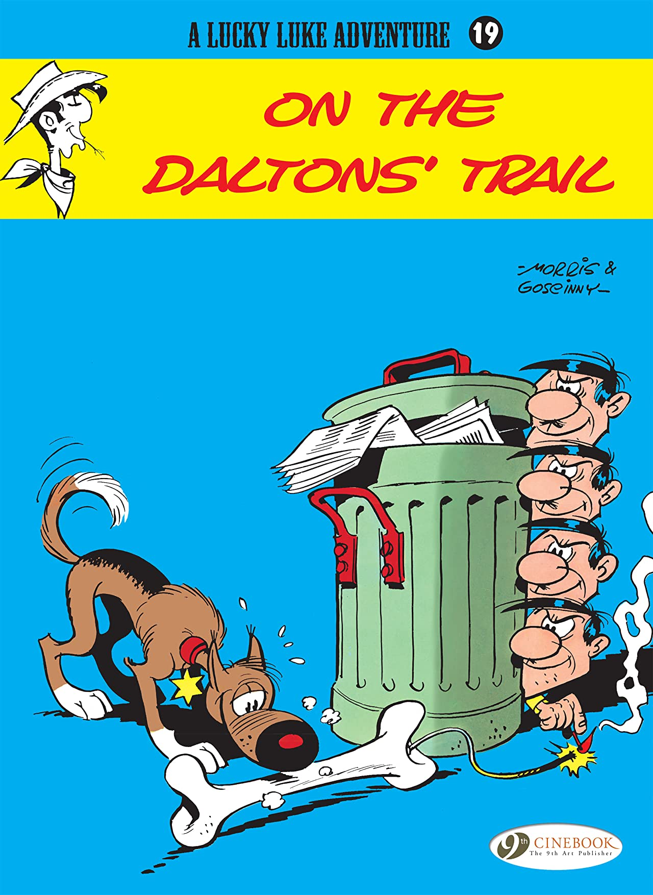 Lucky Luke Tome 19: On the Daltons' Trail