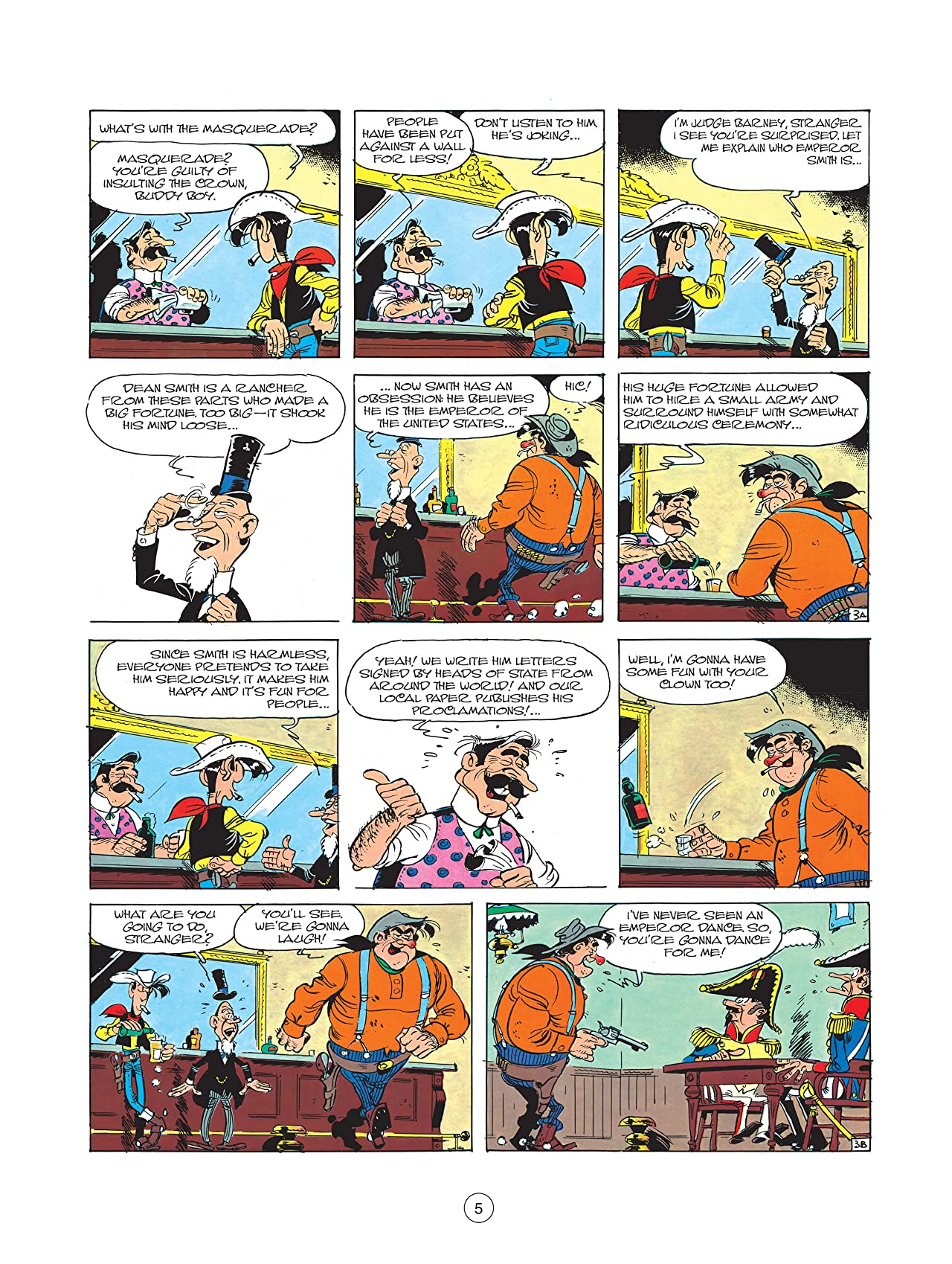 Lucky Luke Vol. 22: Emperor Smith