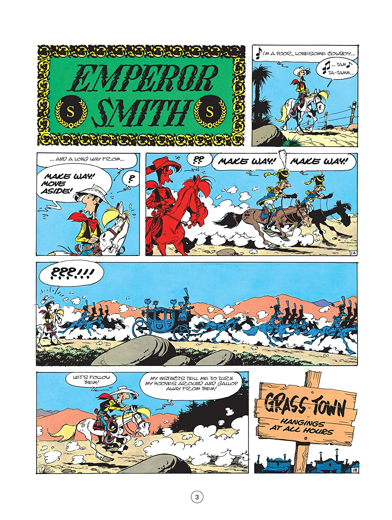 Lucky Luke Tome 22: Emperor Smith