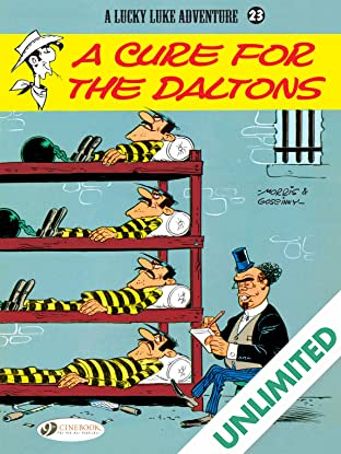 Lucky Luke Vol. 23: A Cure for the Daltons
