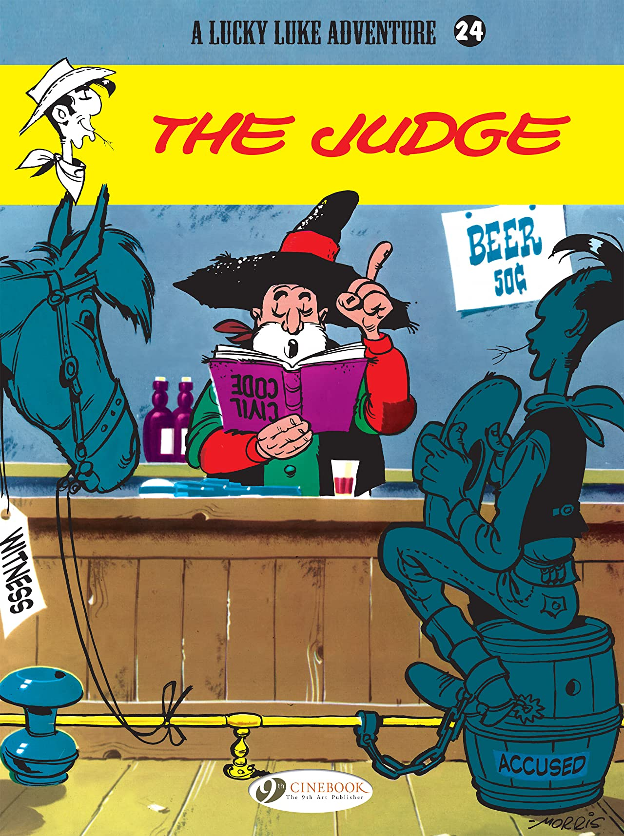 Lucky Luke Vol. 24: The Judge
