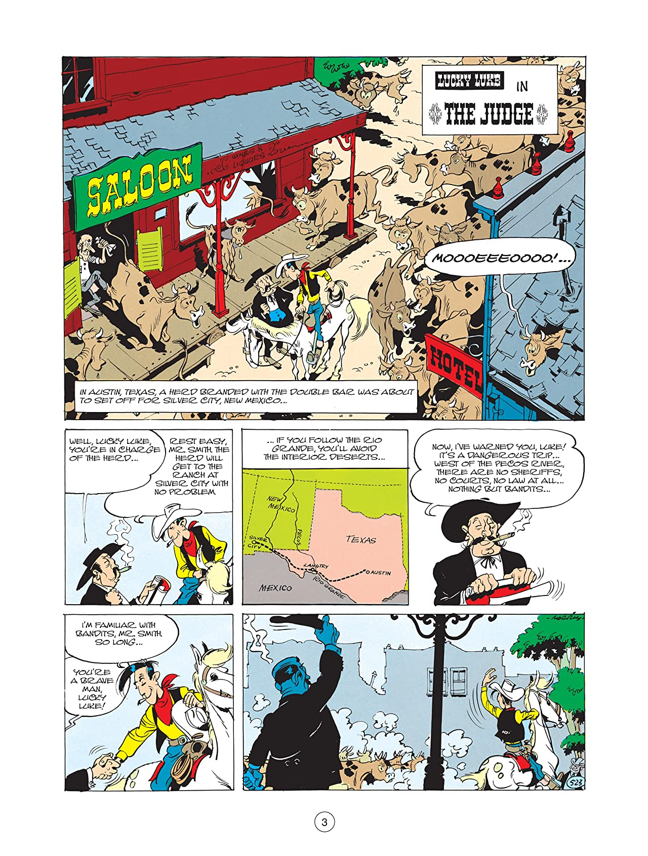 Lucky Luke Tome 24: The Judge