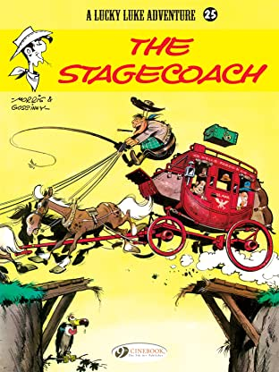 Lucky Luke Tome 25: The Stagecoach