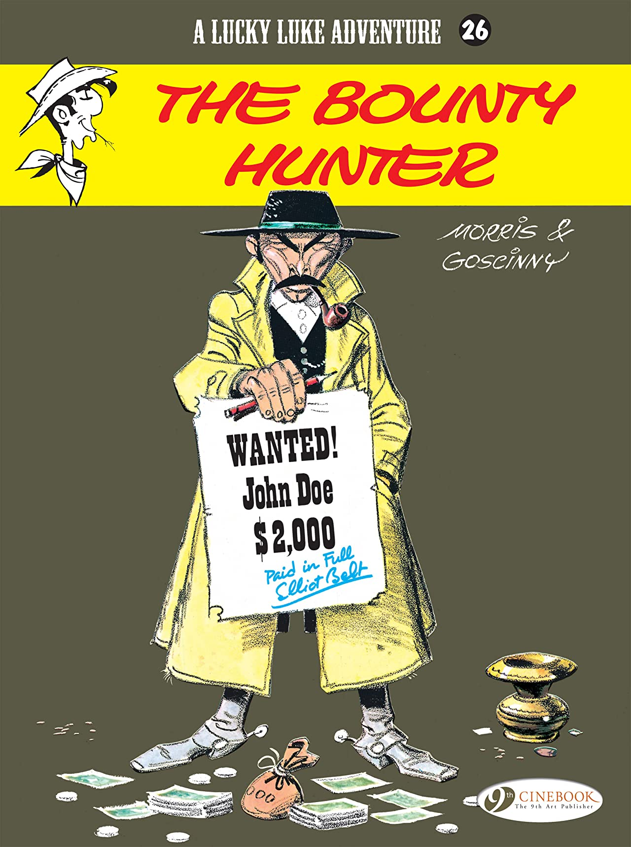 Lucky Luke Vol. 26: The Bounty Hunter