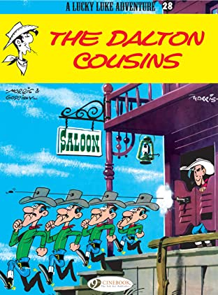 Lucky Luke Tome 28: The Dalton Cousins