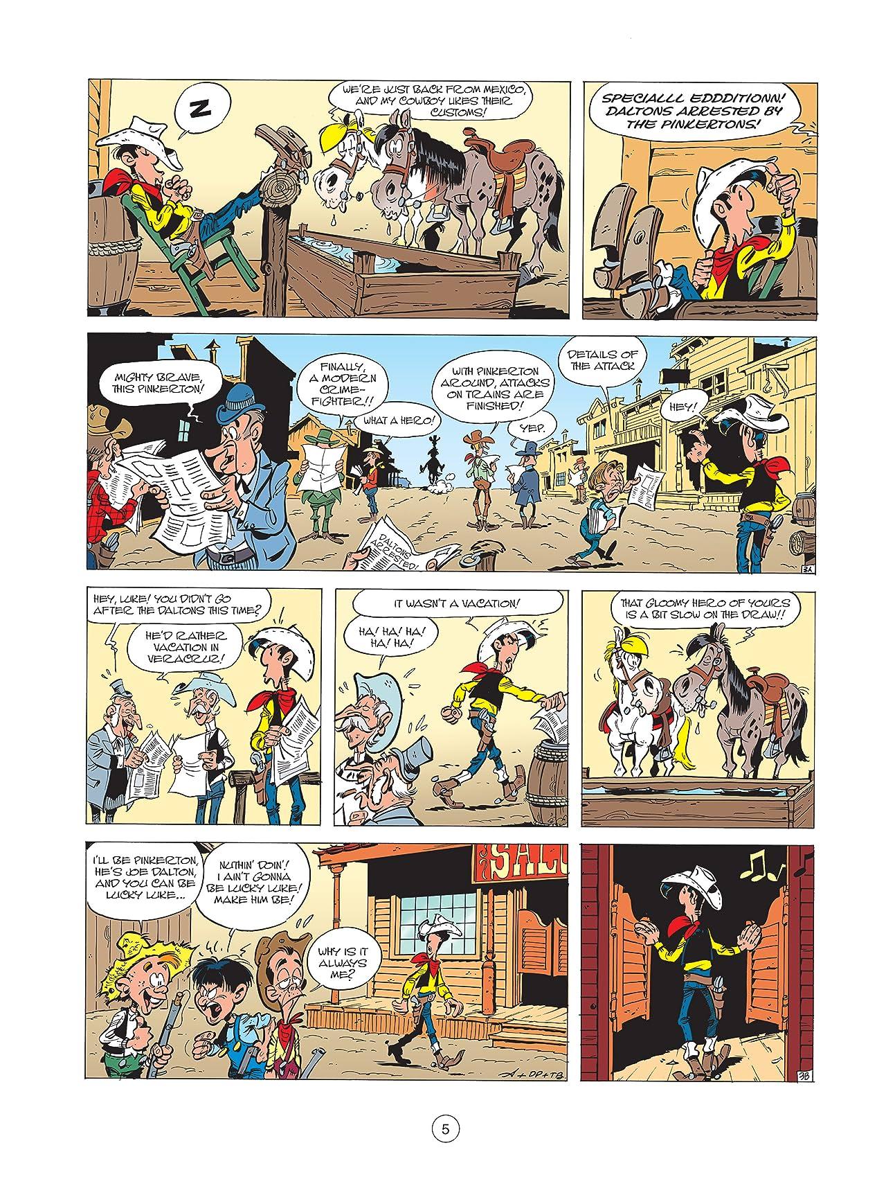 Lucky Luke Vol. 31: Lucky Luke versus The Pinkertons