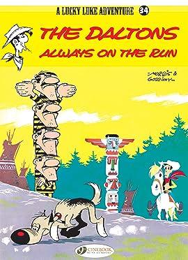 Lucky Luke Vol. 34: The Daltons Always on the Run
