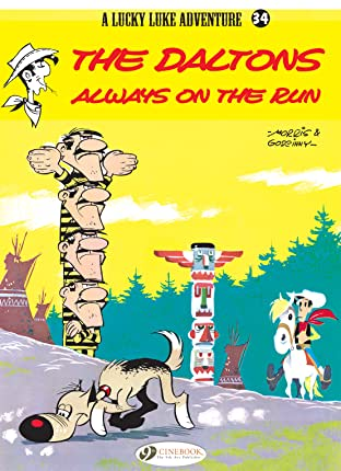 Lucky Luke Tome 34: The Daltons Always on the Run