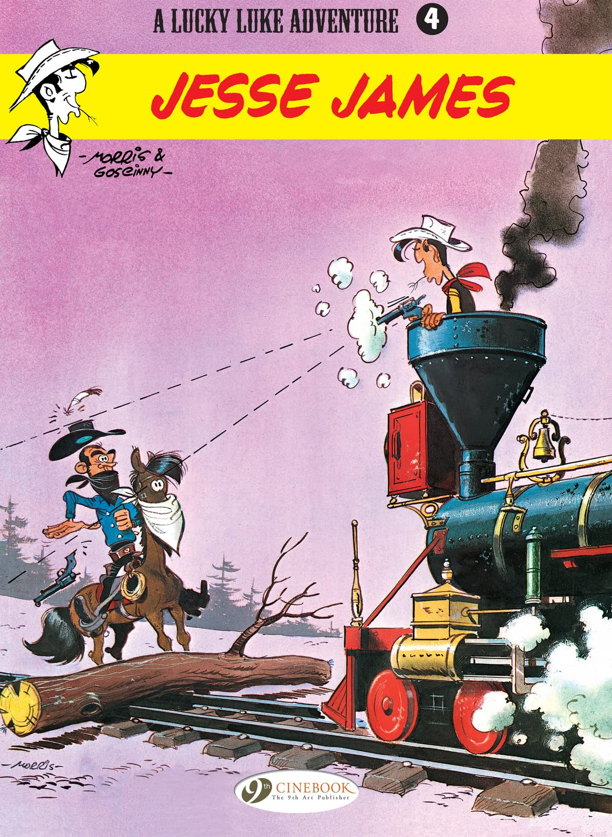 Lucky Luke Tome 4: Jesse James
