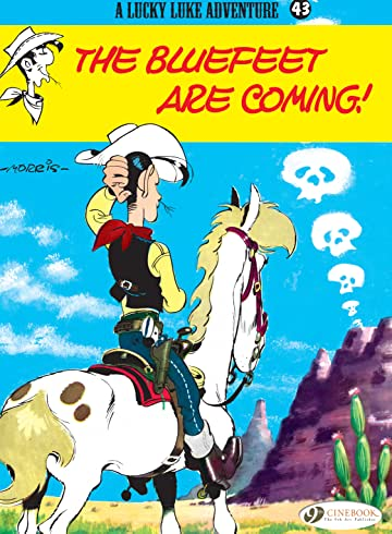 Lucky Luke Vol. 43: The Bluefeet are coming!