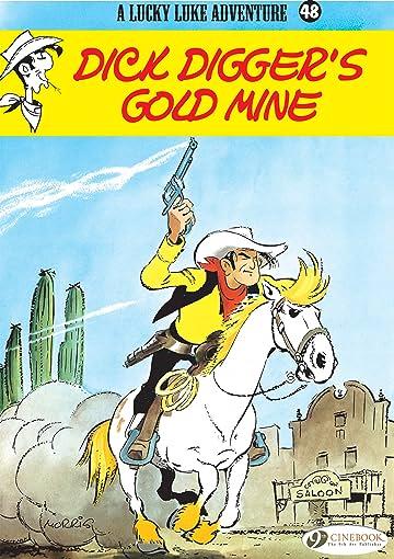 Lucky Luke Vol. 48: Dick Digger's gold mine