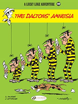 Lucky Luke Vol. 49: The Dalton's amnesia