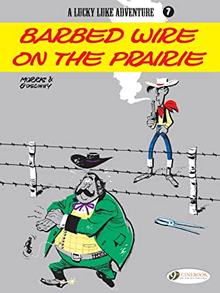 Lucky Luke Tome 7: Barbed Wire on the Prairie