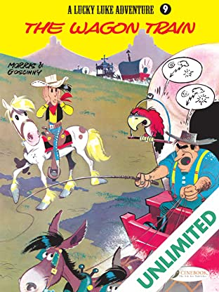 Lucky Luke Vol. 9: The Wagon Train