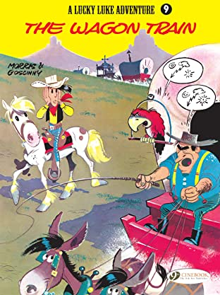 Lucky Luke Tome 9: The Wagon Train