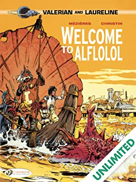Valerian Vol. 4: Welcome to Alflolol