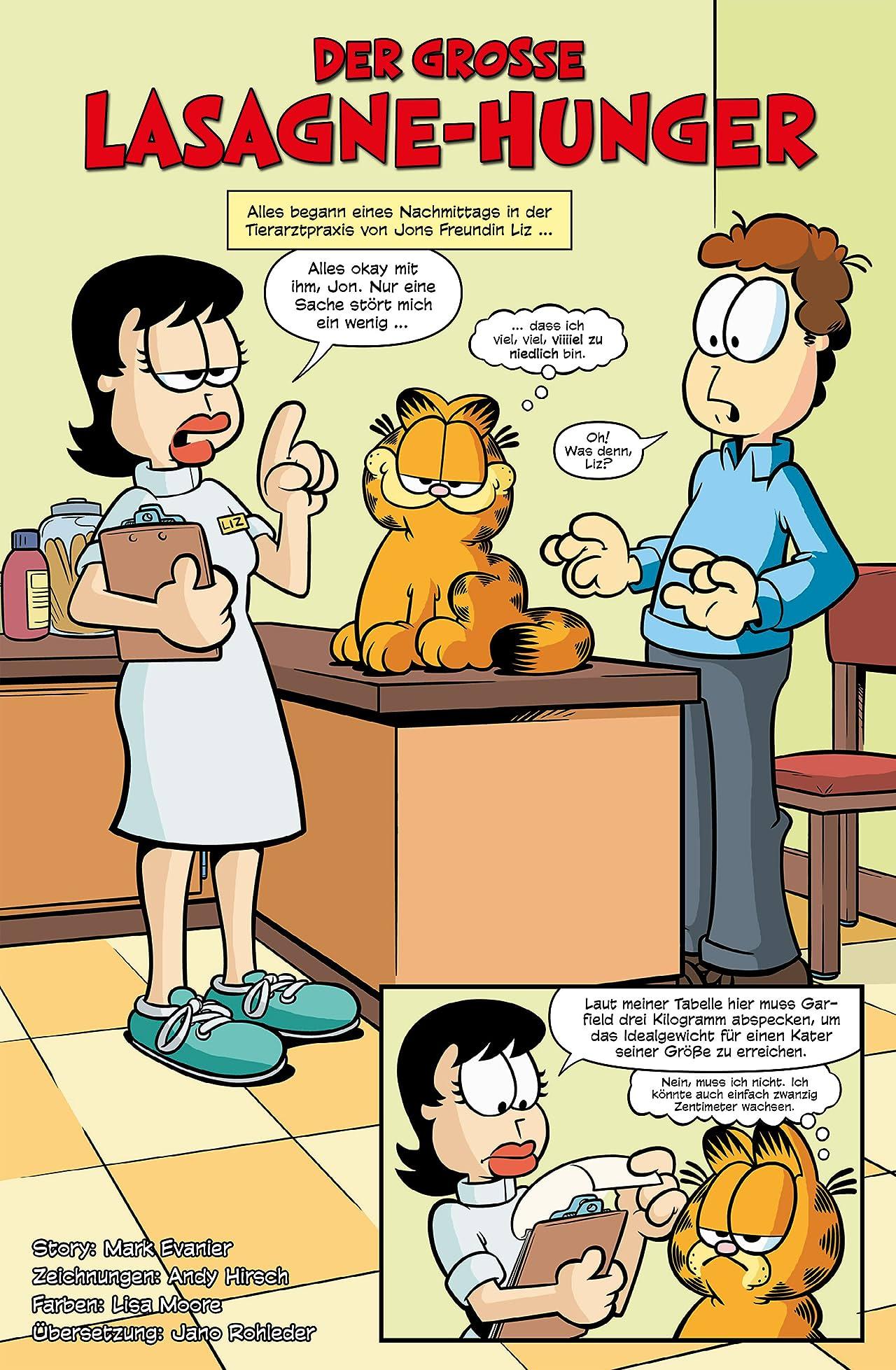 Garfield - Seine neuen Abenteuer Vol. 1: Der große Lasagne-Hunger