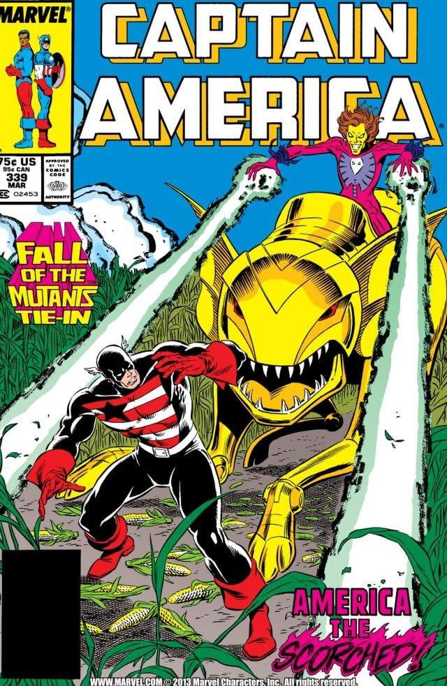Captain America (1968-1996) #339