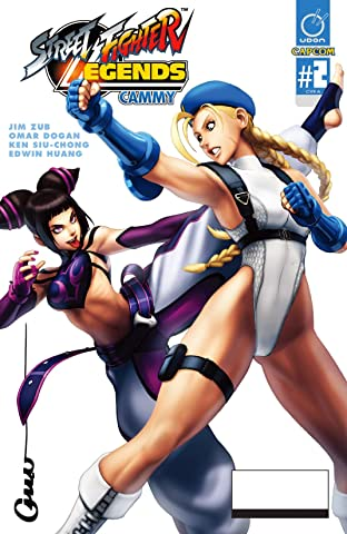 Street Fighter Legends: Cammy #2 (of 4)