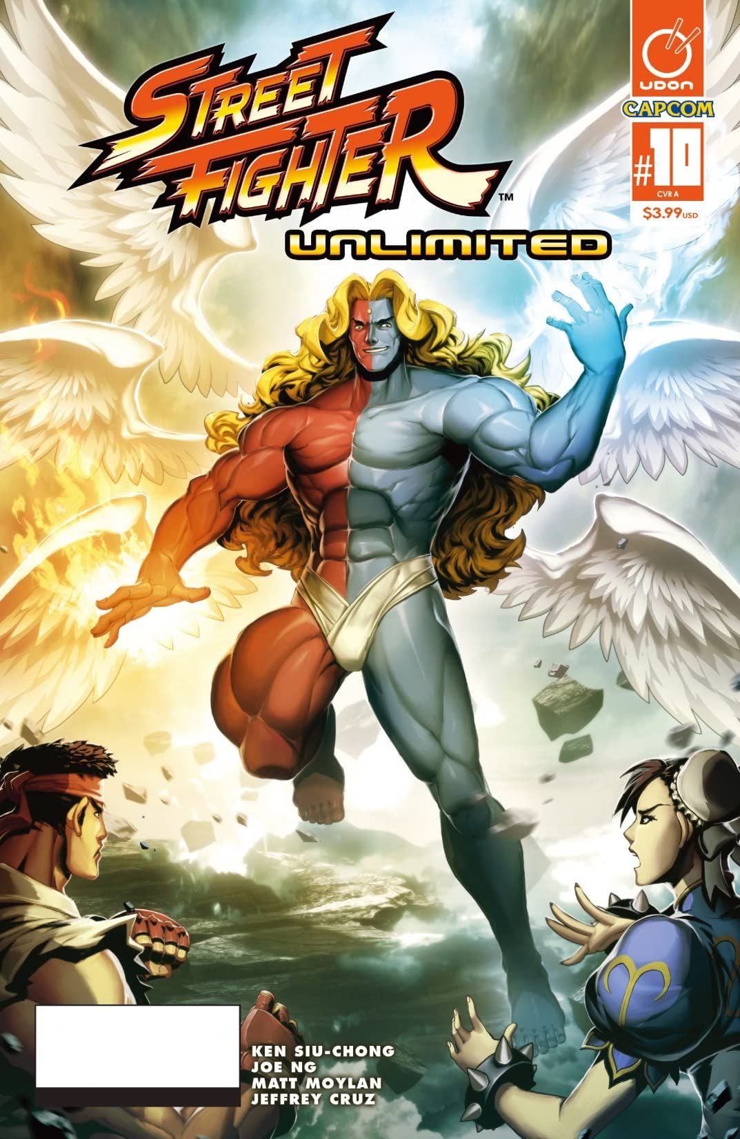 Street Fighter Unlimited #10