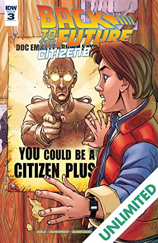 Back To The Future: Citizen Brown #3 (of 5)