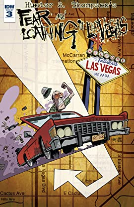 Hunter S. Thompson's Fear and Loathing in Las Vegas No.3
