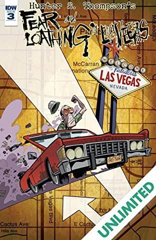 Hunter S. Thompson's Fear and Loathing in Las Vegas #3