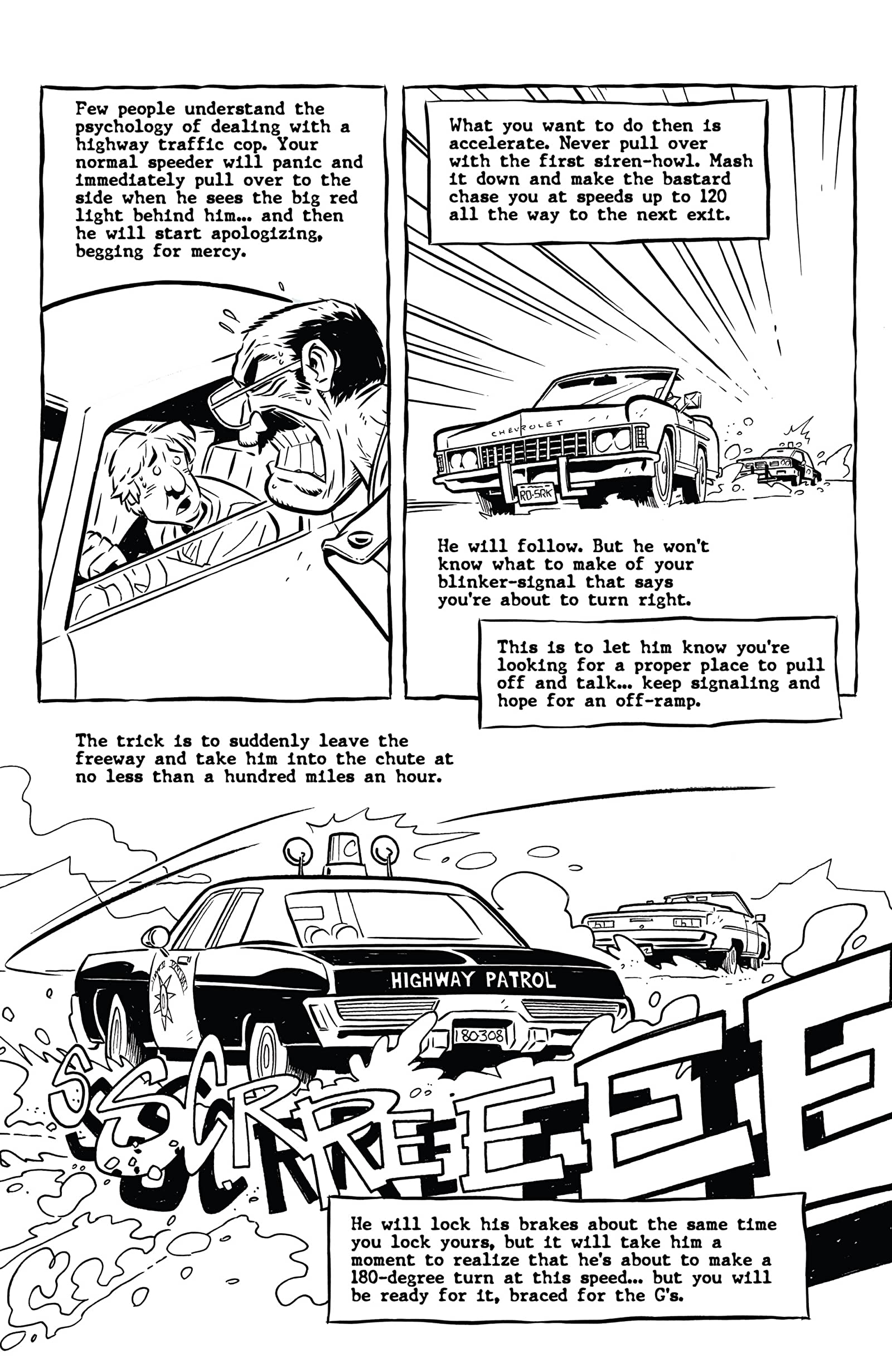 Hunter S  Thompson's Fear and Loathing in Las Vegas #3 - Comics by  comiXology
