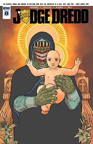 Judge Dredd (2015-2016) #8