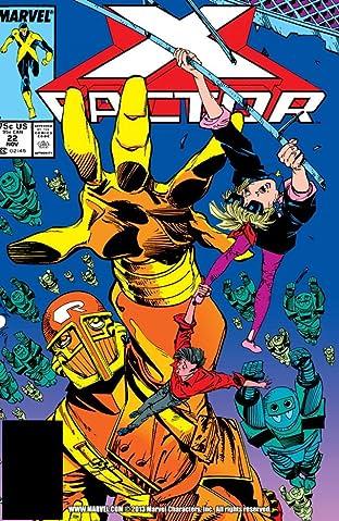 X-Factor (1986-1998) #22