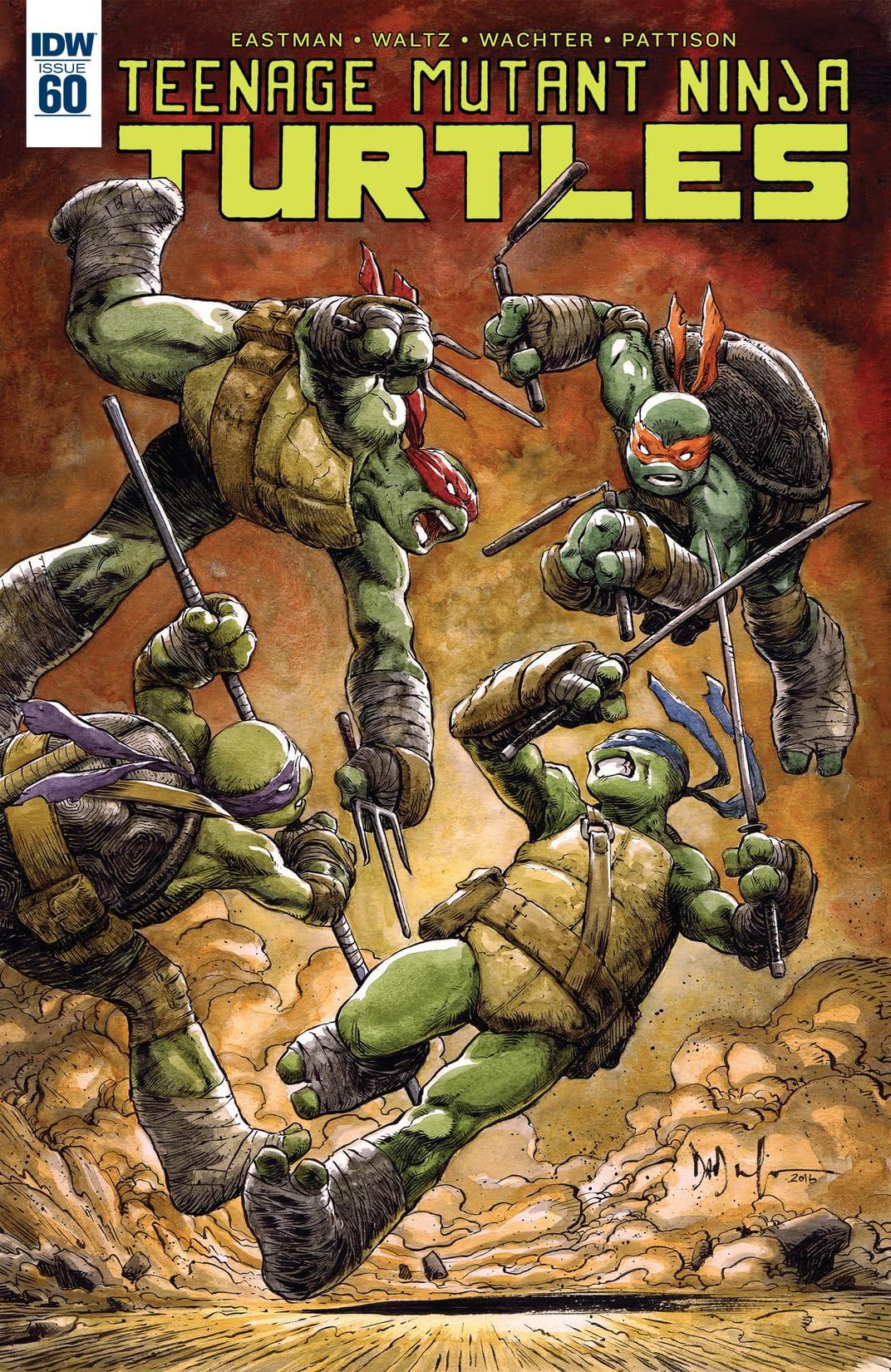 Teenage Mutant Ninja Turtles No.60