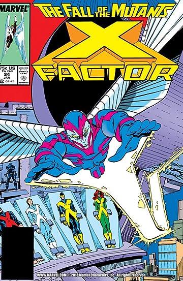 X-Factor (1986-1998) #24