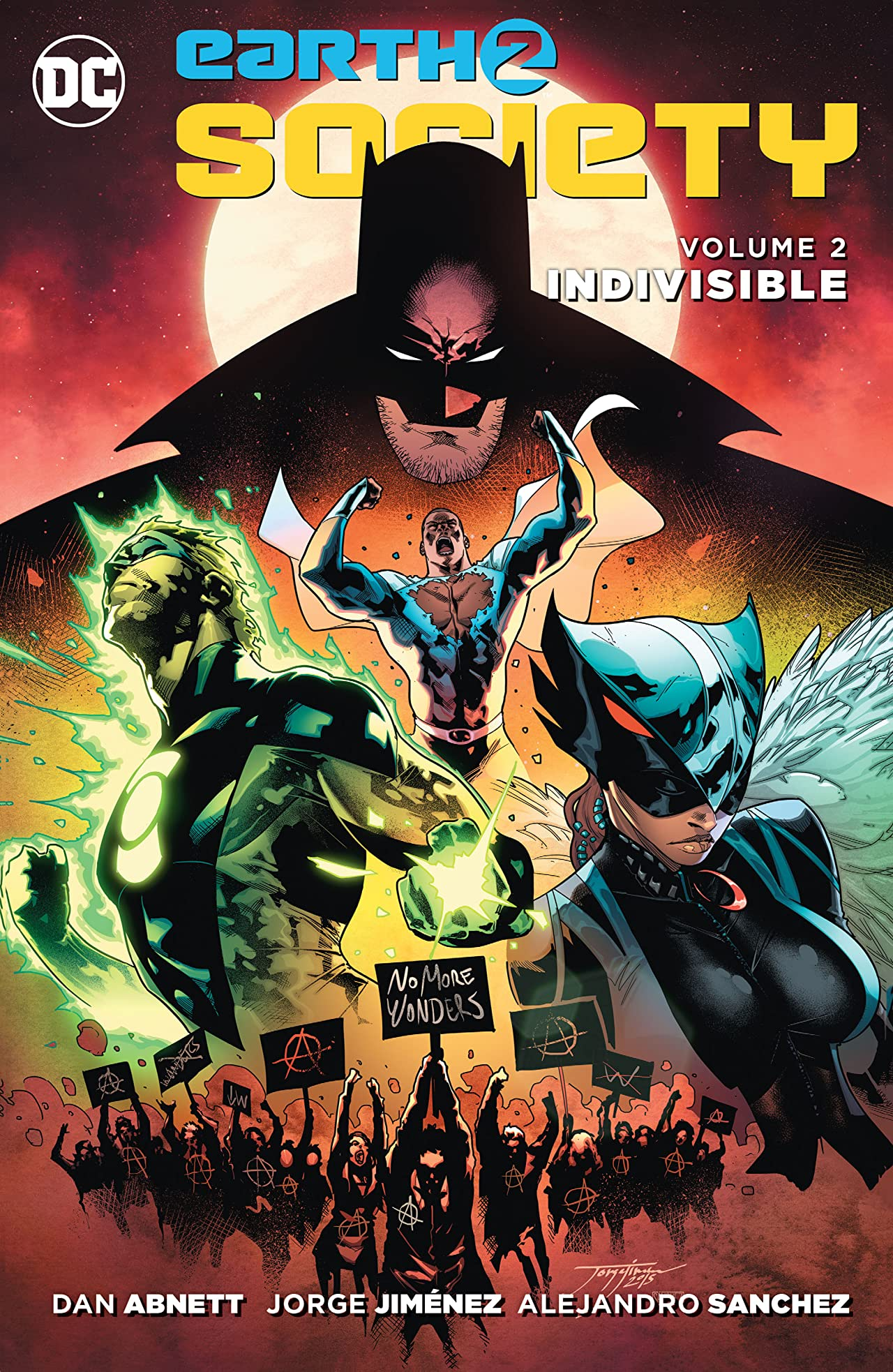 Earth 2: Society (2015-2017) Tome 2: Indivisible