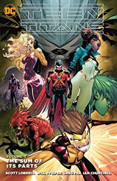 Teen Titans (2014-2016) Vol. 3: The Sum of its Parts