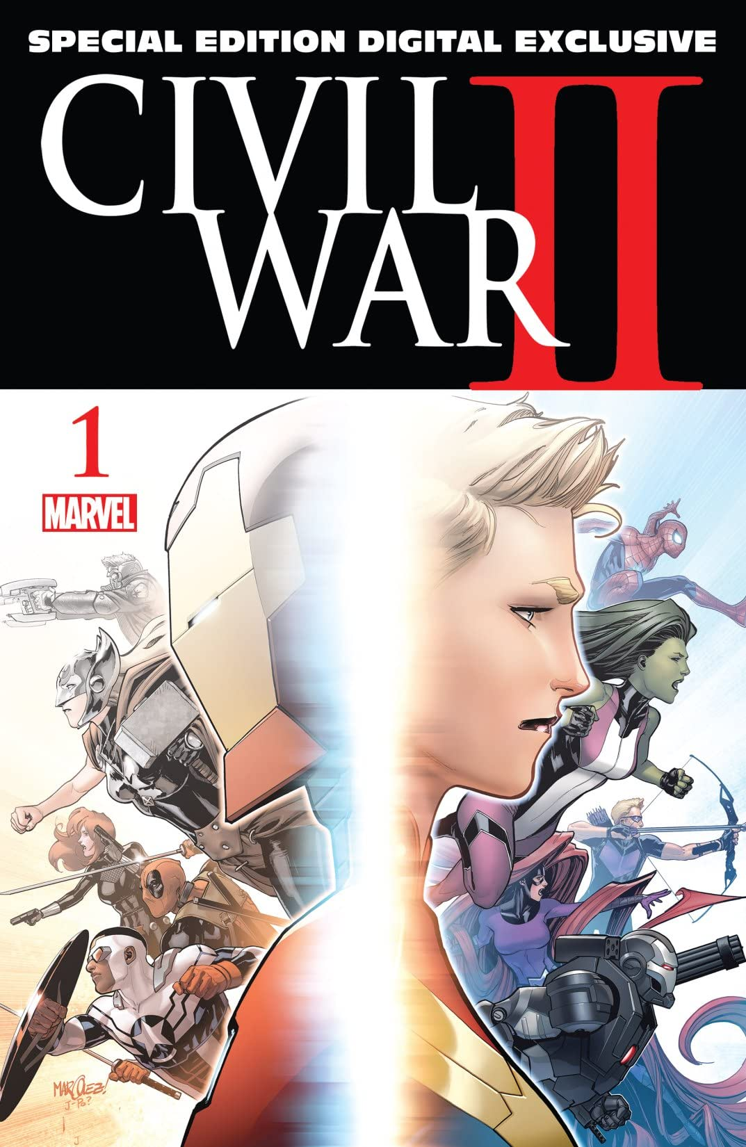 Civil War II (2016) #1: Special Edition - Digital Exclusive