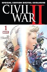 Civil War II (2016) #1: Special Edition - Digital Exclusive