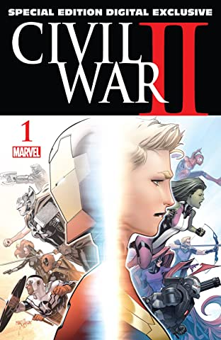 Civil War II (2016) No.1: Special Edition - Digital Exclusive